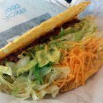 Crunchy Shell Taco bei Taco Bell
