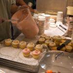 Frische Cupcakes in der Magnolia Bakery