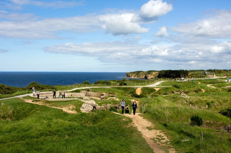 Normandie am Pointe du Hoc