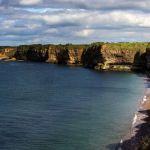 Steilküste in der Normandie