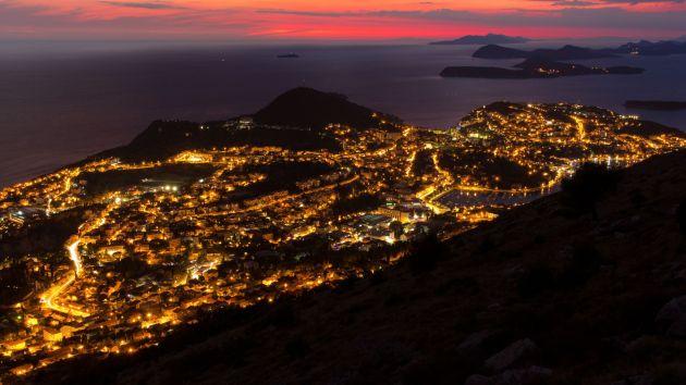Dubrovnik bei Sonnenuntergang