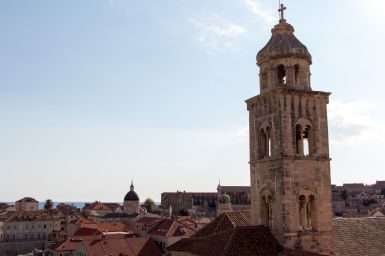 Kirchturm in Dubrovnik