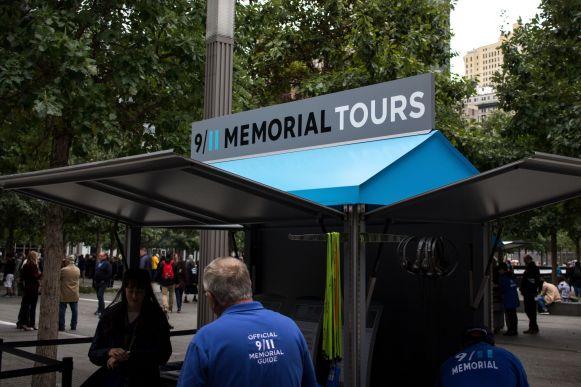 9 11 Memorial Booth World Trade Center New York City