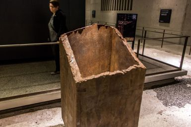 Hohle Stahlbalken World Trade Center 9 11 Museum
