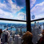 One World Trade Center Fahrstuhl SHow