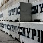 NYPD Concrete Road Blocks