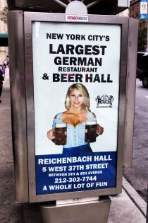 New York City's Largest German Beer Hall