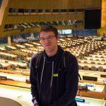 Robert in der UN Generalversammlung