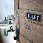 Toilet - altes Ellis Island Krankenhaus