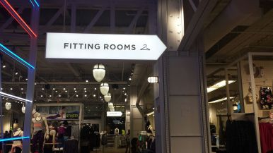 Fittings Rooms in Macys New York City