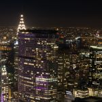 MetLife und Chrysler Building vom Top of the Rock