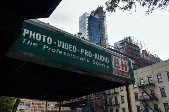 Photo Video Pro Audio Store B&H New York City