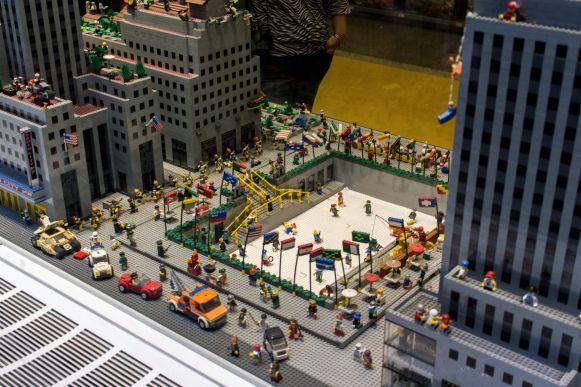 Rockefeller Center Lego Edition New York City