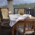 Ferienwohnungen, Apartmenthaus Tisense Südtirol – Terrasse