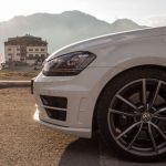 Golf R am Stelvio Pass