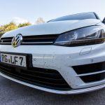 VW Golf 7R in Weitwinkel