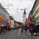 Altstadt von Würzburg auf der Domstraße
