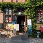 Souvenirladen mit Hanf in Quedlinburg