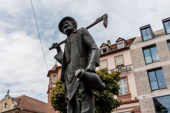 Statue in Würzburg