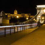 Palast über Budapest