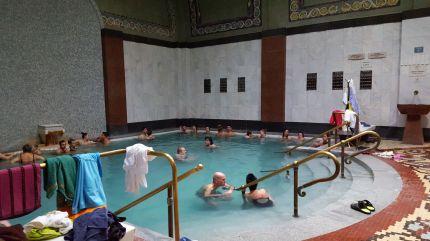 Thermalbecken im Gellért-Bad, Budapest