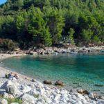 Bucht von Pupnatzka Luka auf Korcula, Kroatien