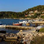 Fuža Beach, Korcula, Kroatien