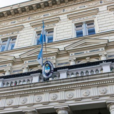 Argentinische Botschaft, Budapest, Ungarn