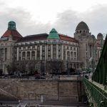 Gellért-Hotel Budapest von der Freiheitsbrücke aus