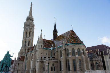 Matthiaskirche, Fischerbastei, Budapest, Ungarn