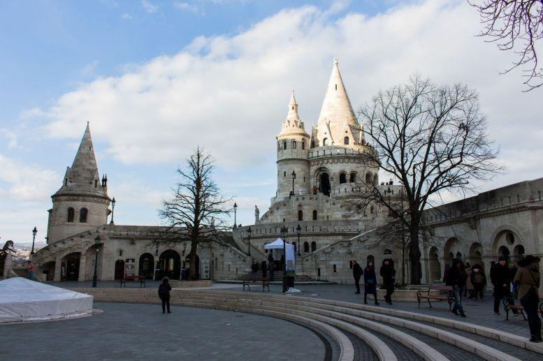 Zentraler Platz, Fischerbastei, Budapest, Ungarn