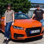A-Team mit Audi TT Cabrio TFSI