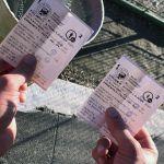 Abgelaufene Tickets für die Kindereisenbahn in Budapest
