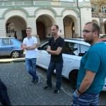 Rallyeteilnehmer 2019 am Ziel in Prag