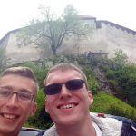 Team DREIst am Schloss von Bled