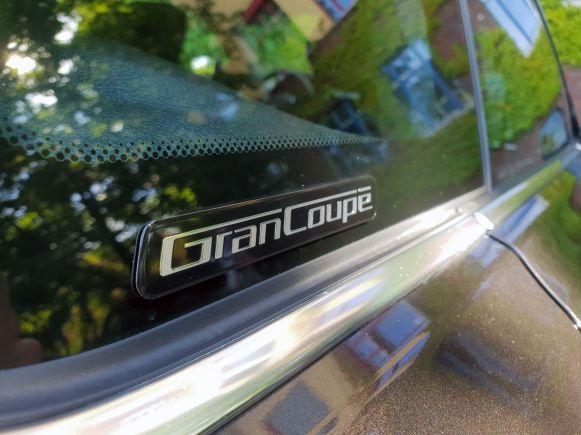 BMW GranCoupé Schriftzug am 4er