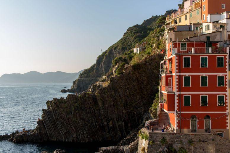 Küstenlinie bei Riomaggiore, Cinque Terre