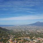 Vesuvtal, Blick auf Mittelmeer
