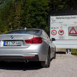 BMW 440i Coupé an der Hahntenjochstraße