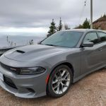 Dodge Charger GT am Cabot Trail, Cape Breton Island