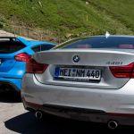 Ford Focus RS und BMW 440i an der Großglocknerhochalpenstraße