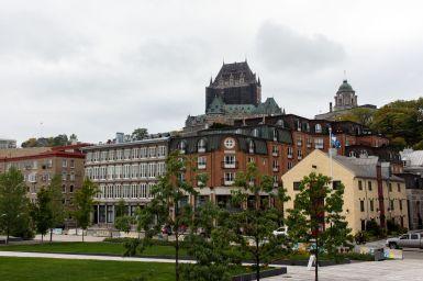 Québec City und Chateau Frontenac