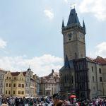 Rathausturm Prag
