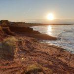 Rote Klippen auf Prince Edward Island bei Cavendish