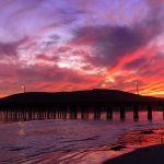Sonnenuntergang in Avila Beach