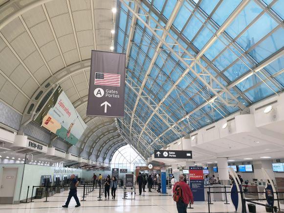 US Gates am Flughafen Toronto Pearson International