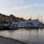 Hafen von Porto Santo Stefano, Italien