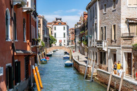 Kleiner Kanal im Süden Venedigs