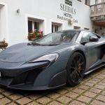 McLaren 675 LT am Hotel Seehaus, Antholzertal, Italien