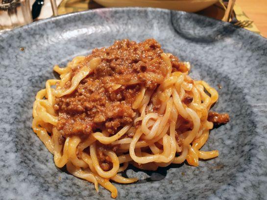 Pici Pasta mit Ragù, Montepulciano, Toskana
